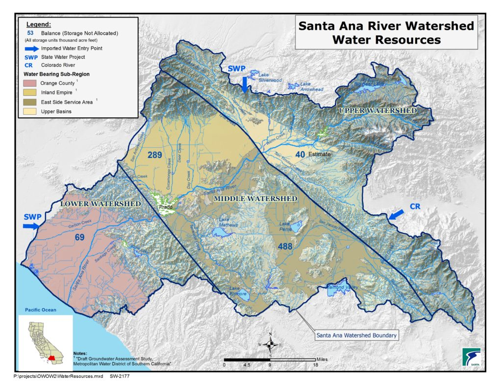 GIS map of Water Resources