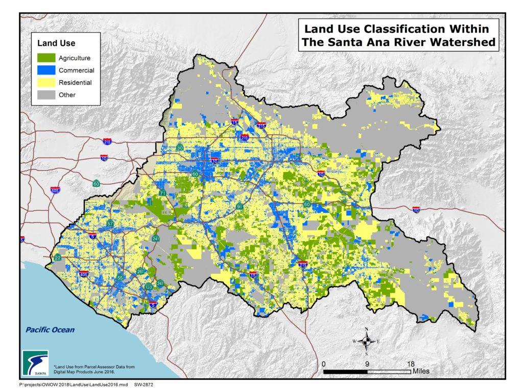 GIS map of Land Use