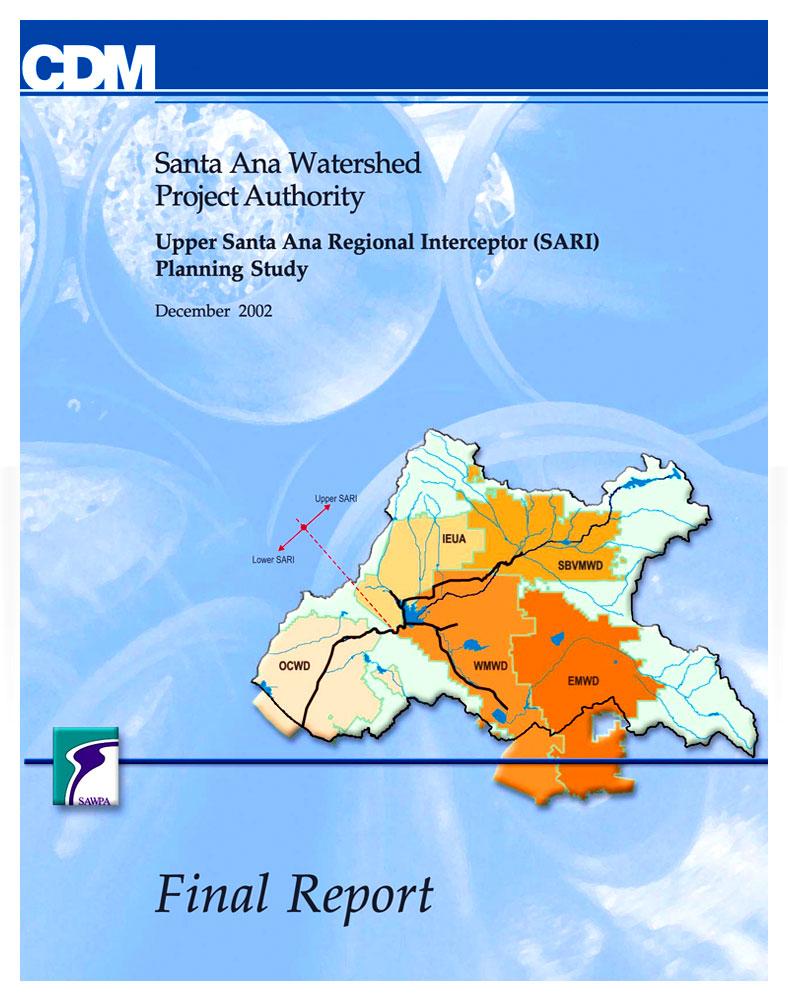 SARI Planning Study 2002 - Volume 3