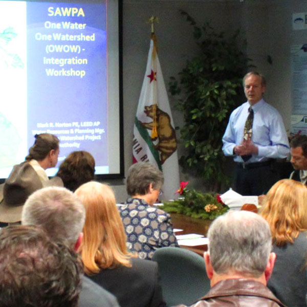 Picture of a Roundtables & Task Forces meeting at SAWPA