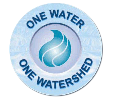 Logo of About One Water One Watershed - OWOW by Santa Ana Watershed Project Authority